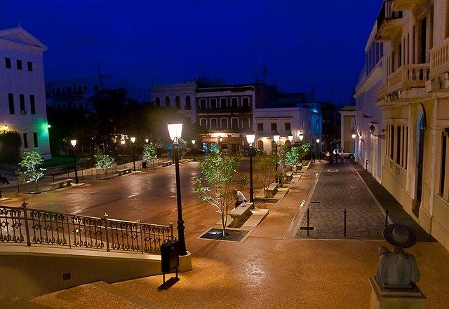 Plaza la Barandilla San Juan