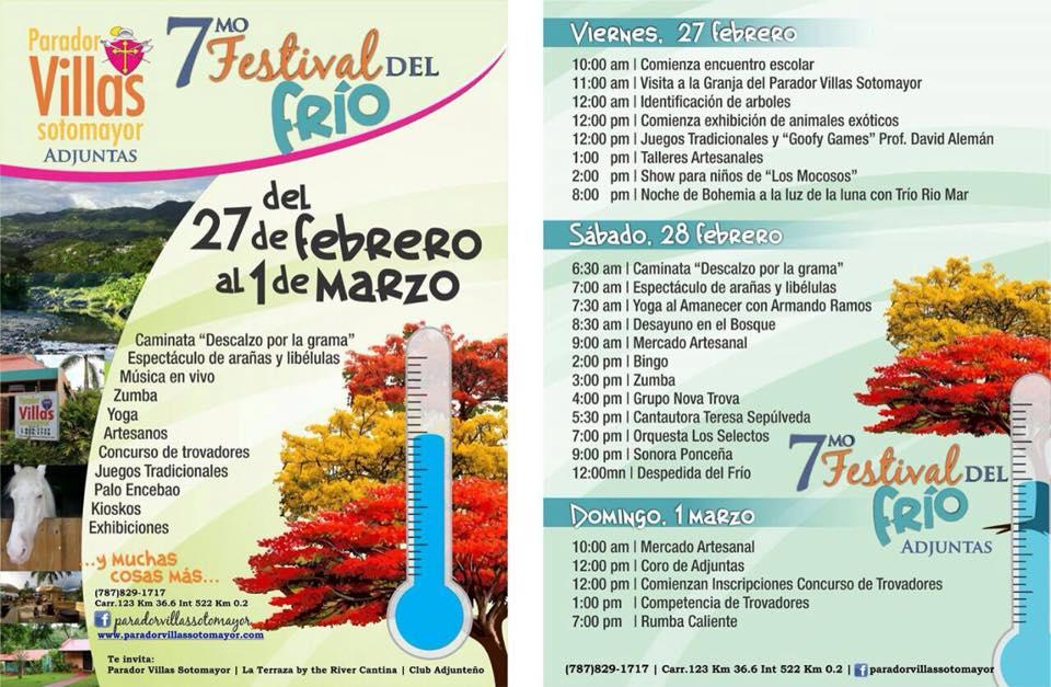 Festival del Frío de Adjuntas