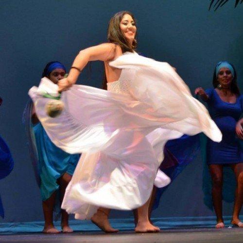 Baile de bomba en el Festival del Aniversario del Instituto de Cultura Puertorriqueña