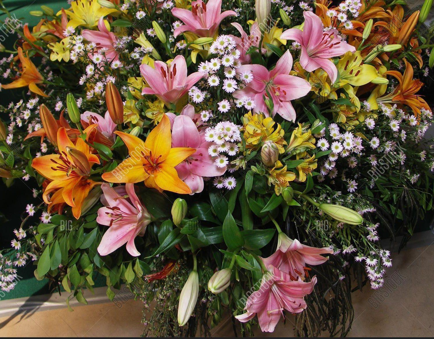 Hermoso bouquet de flores